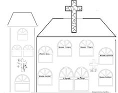 ...Το Νηπιαγωγείο μ' αρέσει πιο πολύ.: Μία εκκλησία για τα Πάθη του Χριστού και τα έθιμα του Πάσχα