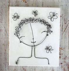 Flower girl by WireDreams on Etsy