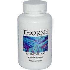 Thorne Research, Anti-Oxidant, 90 Veggie Caps 8200