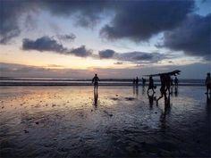 Beautiful Sunset at Kuta Beach