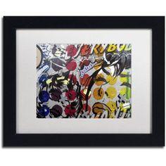 Trademark Fine Art Everybody Wants Canvas Art by Dan Monteavaro White Matte, Black Frame, Size: 16 x 20