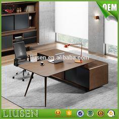 Source Hot sale professional office furniture european style office mdf melamine panel executive desk on m.alibaba.com