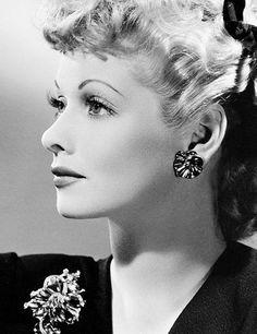 Lucille Ball ~ photo by Ernest Bachrach c. 1942