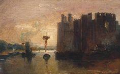 Joseph Mallord William Turner 'Caernarvon Castle', c.1798