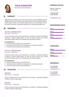 Free Basic Resume Template  Basic Resume Templates