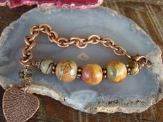 These are jasper beads
