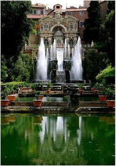 Villa d'Este.Tivoli