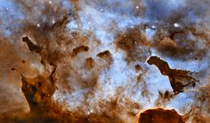Pillars of gas and dust in the Carina Nebula http://www.hubblesite.org/newscenter/archive/releases/nebula/2010/29/
