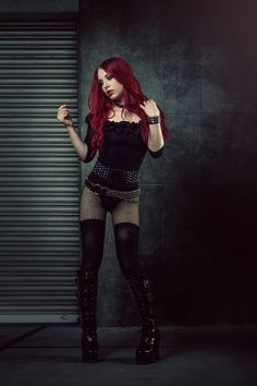Photo: DraJean Model, Make-up, Styling: Jessie D. Luna Welcome to Gothic and Amazing | www.gothicandamazing.com