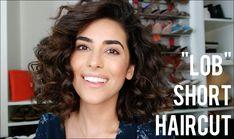 Lob Haircut for Curly Hair