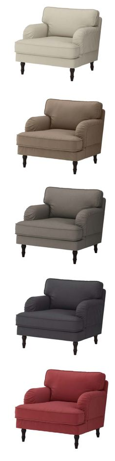 The STOCKSUND seating series has a timeless, traditional style and a warm inviting feeling, with soft rounded shapes and handcrafted details like turned wooden legs. The generous dimensions and seat cushions with a core of pocket springs provide excellent comfort that you will enjoy for many years to come.