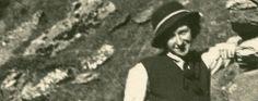 Antonia Pozzi alla capanna del Cervino, 1937.