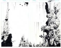 Original Comic Art titled Soul Saga 5 DPS - Full Layout, located in Travis 's Original Comic Art Comic Art Gallery