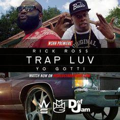 Tsr Thecompanyink: Rick Ross - Trap Luv feat. Yo Gotti (Lyric Video)