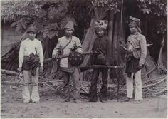 4 orang jahat from Aceh, Indonesia (1900)