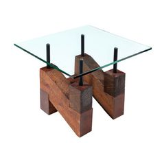 Turning House Furniture Ghent Industrial Beam End Table. I Like This Table  Bwcause It Marries