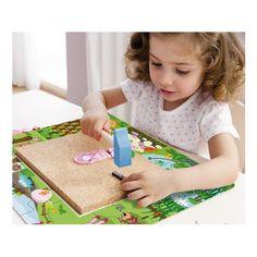 Witajcie,   Za pomocą młotka, gwoździ oraz wielu pomocnych elementów będziemy uczyć rozpoznawania kształtów, rozwijać zdolności manualne oraz wyobraźnię dzieci już od lat 3 ...   Zapraszamy was do Magicznego Ogrodu Lilli, która zaprezentuje nam możliwości drewnianej przybijanki Haba 7196.  Bez obaw, zabawka jest w pełni bezpieczna, a młotek jest drewniany:)  http://www.niczchin.pl/zabawki-zrecznosciowe-dla-dzieci/3883-haba-7196-przybijanka-puzzle-ogrodek-lilli.html  #haba #ogródlilli…