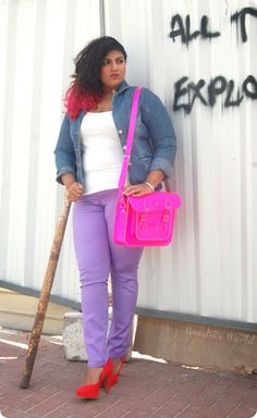 Another purple pant outfit to try, soo excited!!
