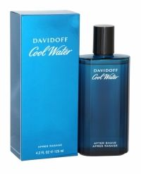 Davidoff Cool Water For Men After Shave 125ml Davidoff Cool Water For Men is a unique and aromatic fresh fragrance that defined a wealth of fragrances after its launch. With Davidoff Cool Water For Men enjoy a cool wave that gives you strength and vitality, experience the intense freshness of peppermint, feel the strength of spicy coriander and lavender and exude sensuality from musk and amber