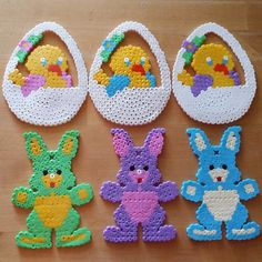 Easter hama beads by fitnessevi