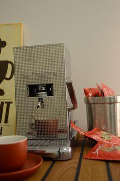 La Piccola Piccola Very small Espresso Machine from Italy. Small Espresso Machine, Nespresso, Coffee Maker, Kitchen Appliances, Italy, Model, Coffee Maker Machine, Diy Kitchen Appliances, Coffee Percolator