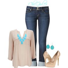 OUTFITS-JEANS on Pinterest | Converse Outfits, Polyvore and Casual ...