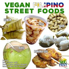It's easy to find vegan street food in the Philippines! #vegan #plantbased #filipino