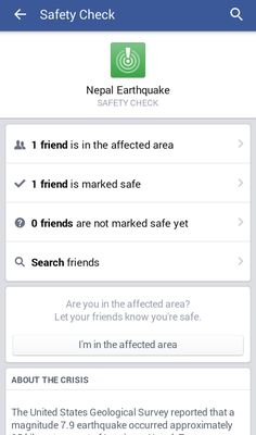 Staying In Touch with Friends & Family During Disasters - http://heelsfirsttravel.boardingarea.com/2015/04/26/facebook-safety-check-staying-in-touch-during-disasters/?utm_source=PN&utm_medium=Heels+First+Pinterest&utm_campaign=SNAP%2Bfrom%2BHeels+First+Travel