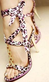 pink + animal print + gold= <3 ^_^ <3