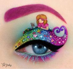Eye Makeup that will Blow Your Mind - Likes