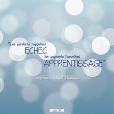#inspiration #motivation #echec #apprentissage #optimisme