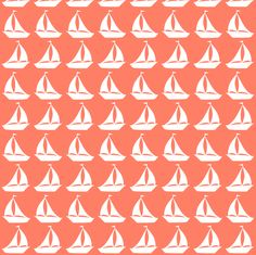 tiny boats fabric by annekecaramin on Spoonflower - custom fabric