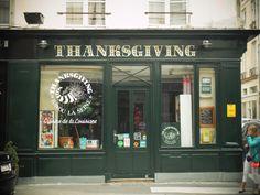 thanksgiving épicerie américaine paris