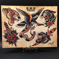5 sheets full of bold designs -- cm / x Phoenix Tattoo Design, Skull Tattoo Design, Dragon Tattoo Designs, Tribal Tattoo Designs, Tribal Sleeve Tattoos, Black Ink Tattoos, Wolf Tattoos, Animal Tattoos, Traditional Tattoo Old School
