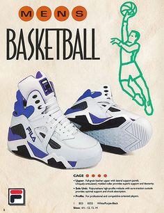Cage 1993 Basketball Catalog Photo