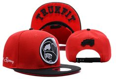 TRUKFIT Feelin Spacey Boys cheap snapback caps red
