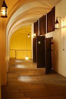 Las celdas en la Conciergerie en París - Una prisión Revolucionaria que fue el último hogar de María Antonieta.