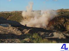En Grupo ALSA, tenemos experiencia y experticia en el manejo de explosivos. LA MEJOR CONSTRUCTORA DE VERACRUZ. En la construcción de puentes y autopistas hacemos uso de explosivos, para lo cual, contamos con personal altamente calificado y autorización ante la SEDENA, la cual nos ha otorgado permiso para la compra y almacenamiento de material explosivo. www.grupoalsa.com.mx #AsfaltosyGravasAL