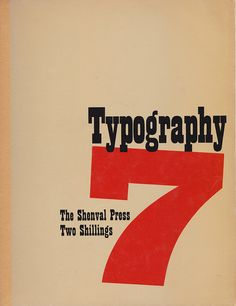 :: Typography issue 7 - The Shenval Press, 1938 ::