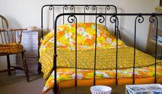 sunny retro bedroom