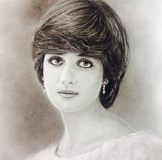 paintings of lady diana - Google Search