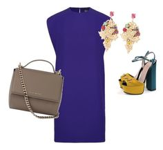 """""""Untitled #10"""" by maraiah on Polyvore featuring McQ by Alexander McQueen, Givenchy, Gucci and Halo & Co."""