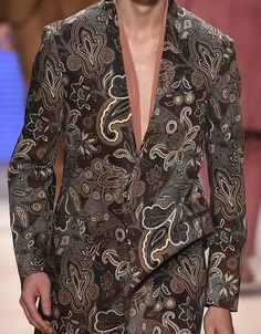 patternprints journal: PRINTS, PATTERNS, TEXTURES AND TEXTILE SURFACES FROM MENSWEAR S/S 2016 COLLECTIONS / MILANO CATWALKS Etro
