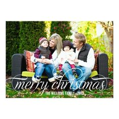 Spread Holiday Cheer and the Christmas Spirit with Modern Christmas Photo Cards. This holiday season, send out affordable and beautiful personalized modern Christmas photo cards with photos of your family and any card design you want. Merry Christmas Card Photo, Holiday Photo Cards, Holiday Photos, Christmas Gifts, Christmas Greetings, Fall Photos, Christmas Decor, Christmas Ideas, Xmas