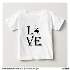 Love Oceania Continents Tees