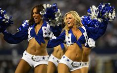 The NFL circus rolls into London again this weekend, with the Jacksonville Jaguars facing the Dallas Cowboys at Wembley Stadium. Here are a few reasons why you should be paying attention to America's most popular sport Cheerleader Images, Cheerleading Pictures, Hottest Nfl Cheerleaders, Football Cheerleaders, Arizona Cardinals Cheerleaders, Sports Predictions, British Sports, Most Popular Sports, Nfl Dallas Cowboys