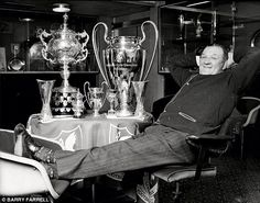 The late, great Bob Paisley #LFC