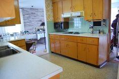 Trendy Ideas For Kitchen Backsplash Wood Cabinets Mid Century Vintage Modern, Birch Cabinets, Kitchen Cabinets, Midcentury Modern, Bauhaus, Kitchen Wood Design, Kitchen Flooring, Kitchen Backsplash, Backsplash Design