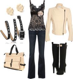 """""""Black Lace"""" by humblelaura ❤ liked on Polyvore"""