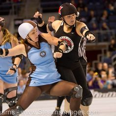 Here's How To Be As Badass And Fit As A Roller Derby Champ